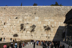 Western Wall of the Temple Royalty Free Stock Images