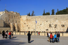 Western Wall of the Temple Royalty Free Stock Photo