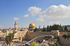 The Western Wall of the Temple Royalty Free Stock Image