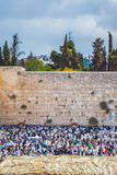 Western Wall of the Temple Royalty Free Stock Photography