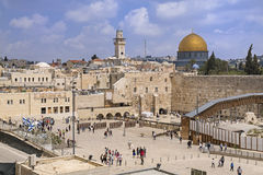 The Western Wall,Temple Mount, Israel Stock Photos