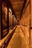 Western Wall tunnel Jerusalem Stock Photo