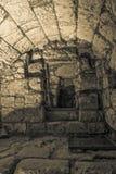 Western Wall tunnel secret passage Royalty Free Stock Photo