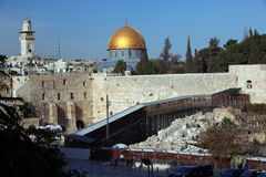 Western Wall (Wailing Wall, Kotel) Stock Photos