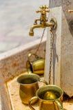 Western Wall water Jerusalem Stock Photography
