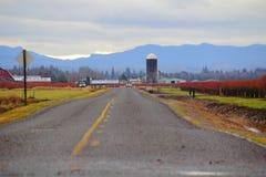Western Washington Country Road Stock Photos