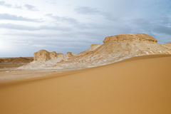 Western White Desert, Egypt Stock Images
