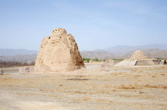 Western Xia tombs Royalty Free Stock Photo