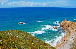 The westernmost beach of Europe Stock Photography