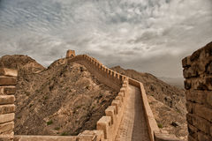 Westernmost part of the Great Wall Stock Photos