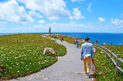 The westernmost point of Europe Royalty Free Stock Image