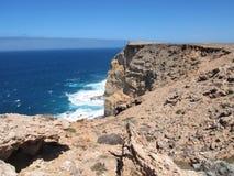 Westernmost Punkt, Haifisch-Bucht, West-Australien stockfotografie