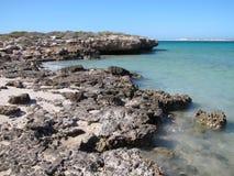Westernmost Punkt, Haifisch-Bucht, West-Australien lizenzfreies stockbild