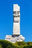 Γντανσκ Westerplatte Στοκ εικόνες με δικαίωμα ελεύθερης χρήσης