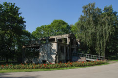 WESTERPLATTE - BUILDING STAFF Royalty Free Stock Photography