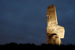 Westerplatte, Danzig, Pologne photographie stock