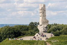 Westerplatte Memorial in Gdansk, Poland Royalty Free Stock Photos