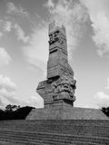 Westerplatte Monument Royalty Free Stock Photo