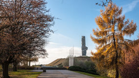 Westerplatte Monument Stock Image