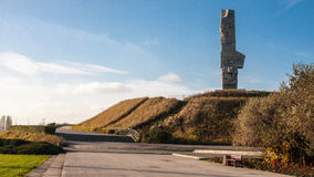 Westerplatte Monument Stock Images