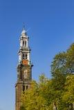 Westertoren, Western tower Royalty Free Stock Photo