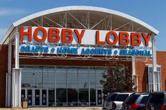 Westfield - Circa June 2018: Hobby Lobby Retail Location. Hobby Lobby is a Privately Owned Christian Principled Company III. Hobby Lobby Retail Location. Hobby stock photos