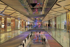 Westfield department store shopping Sydney Australia. People visit Westfield department store in Sydney Australia. Westfield is an Australian shopping centre Royalty Free Stock Image