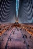 Westfield galleria på World Trade Center Arkivbild