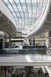 Westfield shopping centre in east london. Interior of the westfield shopping centre in east london Royalty Free Stock Images