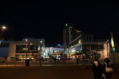 Westfield Shopping City. At night all lit up Stock Photo