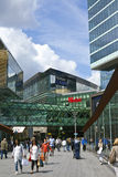 Westfield Stratford City Shopping Centre i London Royaltyfri Fotografi