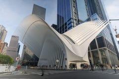 Westfield-World Trade Center-Mall im Lower Manhattan Lizenzfreies Stockfoto