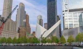Westfield-World Trade Center-Mall im Lower Manhattan Lizenzfreie Stockbilder