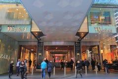 Westfieldwarenhuis winkelend Sydney Australia Stock Fotografie