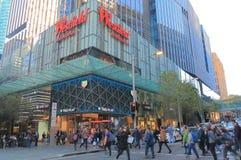 Westfieldwarenhuis winkelend Sydney Australia Stock Foto's