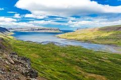 Westfjorde Lizenzfreies Stockfoto
