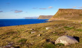 Westfjords Royaltyfria Foton
