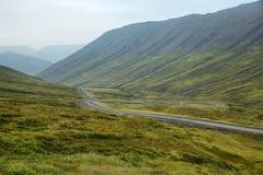 Westfjords de Islandia imágenes de archivo libres de regalías