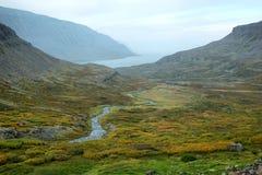 Westfjords dell'Islanda Fotografie Stock Libere da Diritti