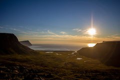 Westfjords, Island stockfotos