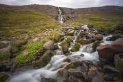 Westfjords vattenfall Royaltyfri Foto