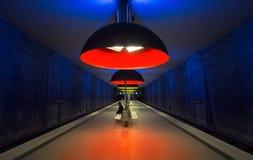 Westfriedhof station metro munich royaltyfri fotografi