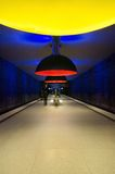 Westfriedhof subway station in Munich Stock Photos