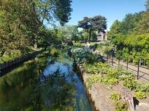 Westgate Gardens, Canterbury, Kent Stock Photos