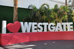 Westgate Las Vegas Resort & Casino Royalty Free Stock Images
