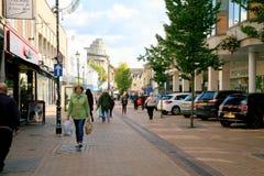 Westgate, Mansfield foto de archivo libre de regalías