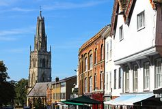Westgate Street, Gloucester. Royalty Free Stock Photography