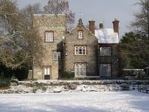 Westgatehuis in de Sneeuw Stock Afbeeldingen