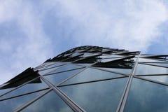 Westhafen塔面孔 免版税库存图片