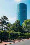 Westhafen塔 免版税库存照片